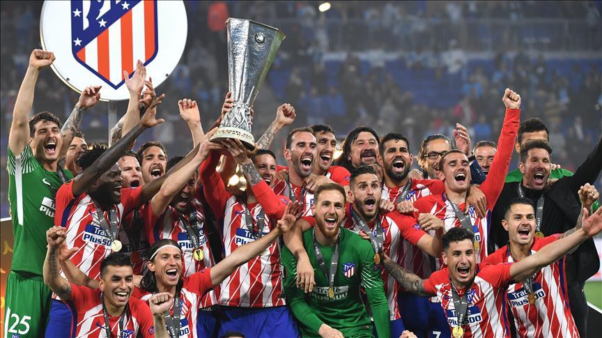 UEFA - Finale: L'Atlético Madrid remporte la Ligue Europa face à Marseille (3-0)