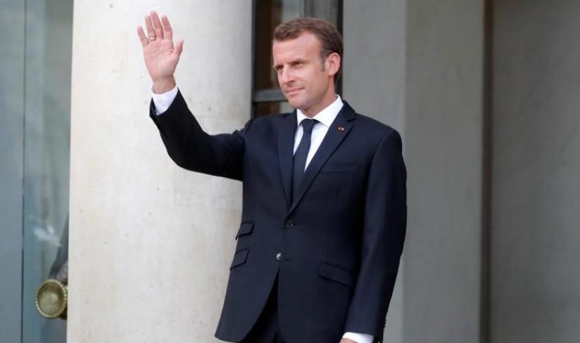 G7: Macron arrive avec des objectifs ambitieux, déterminé face à Trump