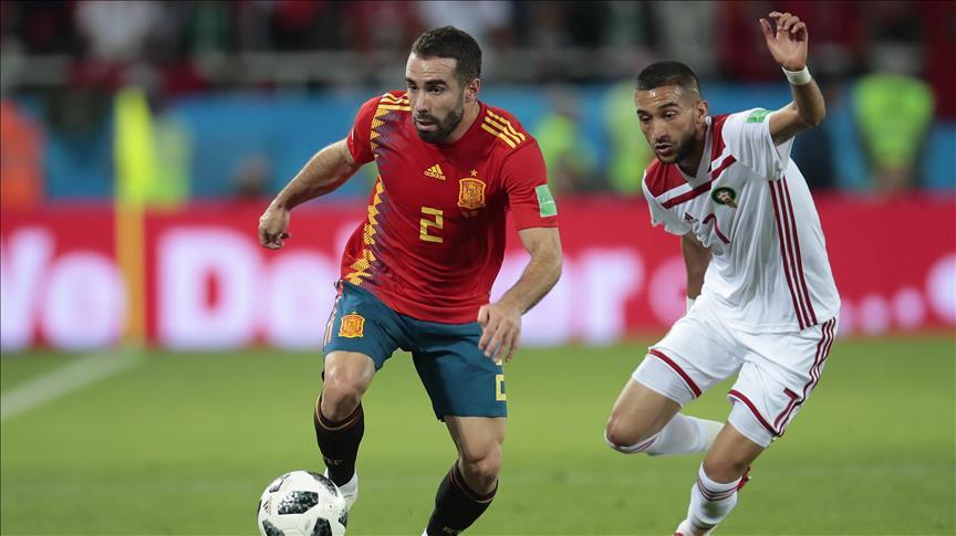CM2018 / Gr.B – 3ème j. : l'Espagne arrache son huitième de finale face au Maroc (2-2)
