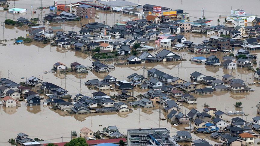 Japon : Le bilan des inondations s'alourdit à 126 morts