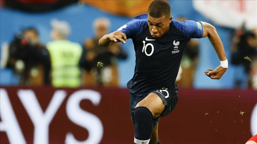 Foot / CM2018 : Le Français Kylian Mbappé meilleur jeune joueur du Mondial
