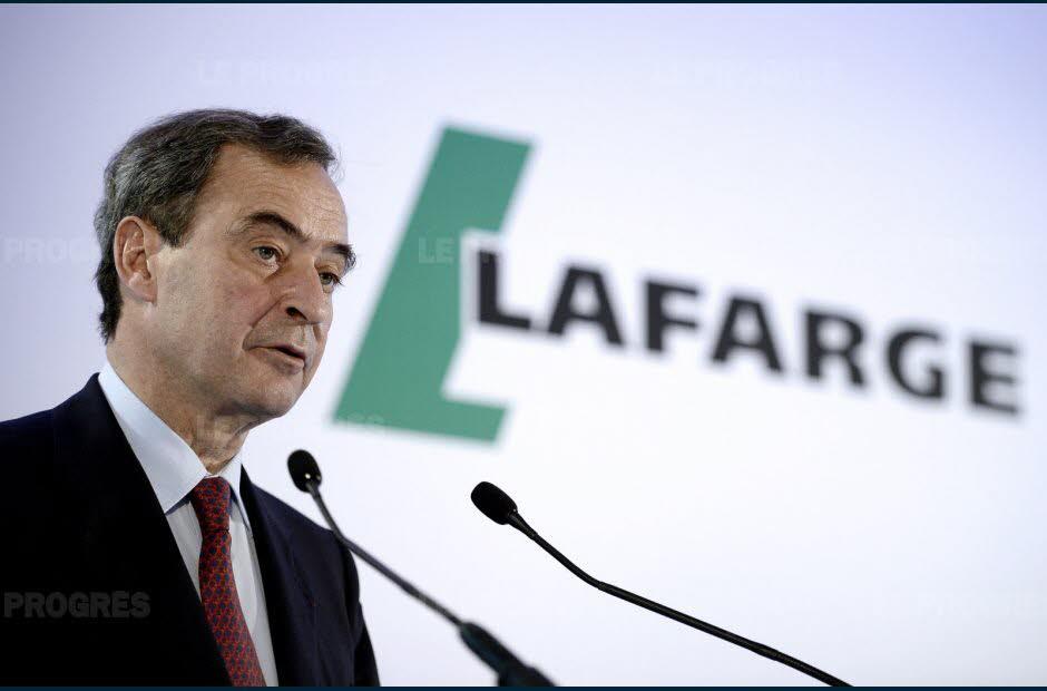 Lafarge-Une partie des indemnités de Bruno Lafont saisie