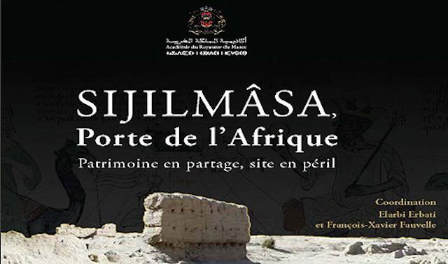 """Conférence à l'Académie du Royaume du Maroc sous le thème """"Sijilmâsa, porte de l'Afrique, patrimoine en partage, site en péril"""""""