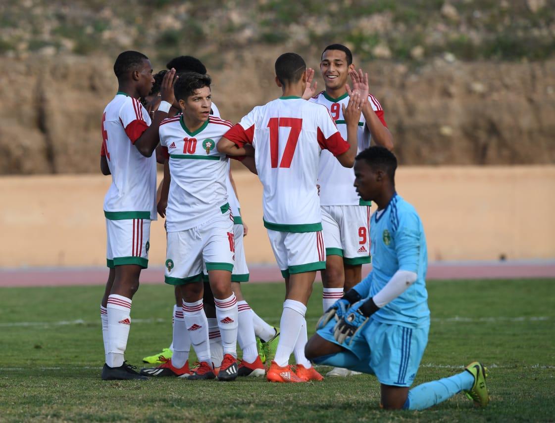 Coupe de l'UNAF U17 Marrakech 2018: Le Maroc rejoint le Sénégal en finale