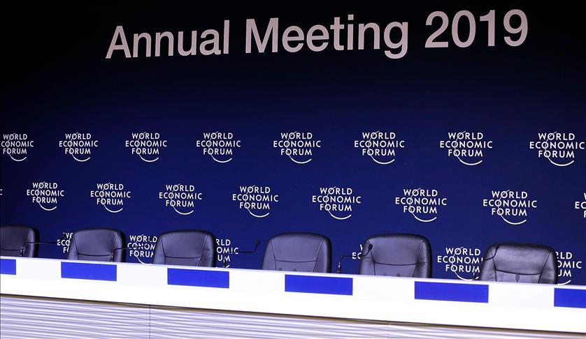 Démarrage du Forum de Davos en l'absence des leaders mondiaux