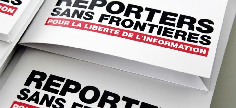 """Contestation en Algérie: les autorités veulent """"museler"""" les médias (RSF)"""