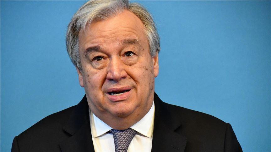 Antonio Guterres préoccupé par les tensions entre les parties en Libye