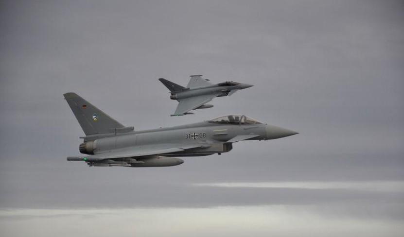Deux Eurofighter se sont écrasés dans le nord-est de l'Allemagne