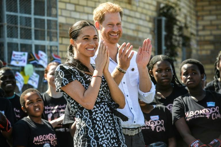 En Afrique du Sud, Harry et Meghan dénoncent les violences faites aux femmes