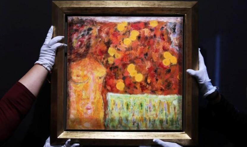 """Un tableau méconnu de Pierre Bonnard, """"Nu orange"""", revient en France"""