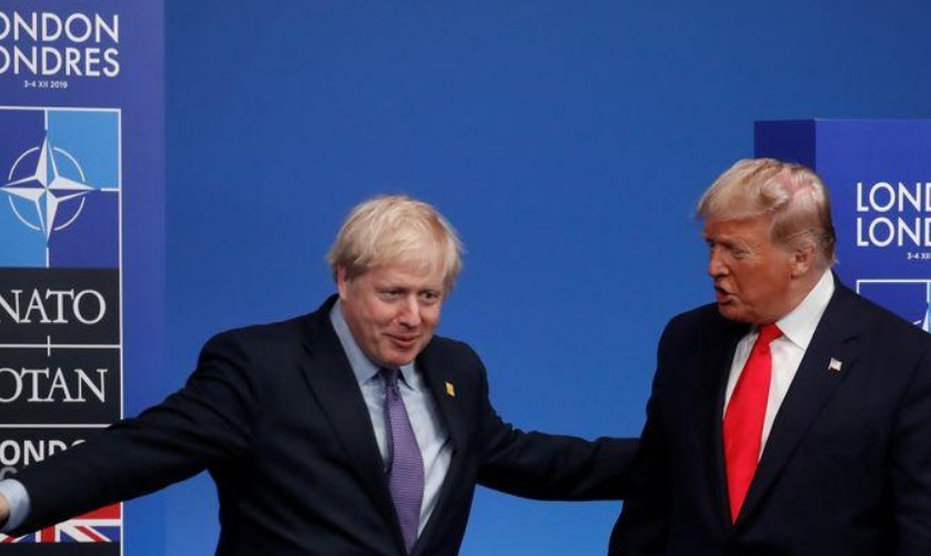 Grande-Bretagne: Johnson insiste sur une taxe numérique malgré Trump