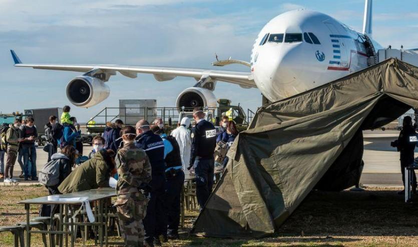 Coronavirus: Un deuxième vol de rapatriés est arrivé en France