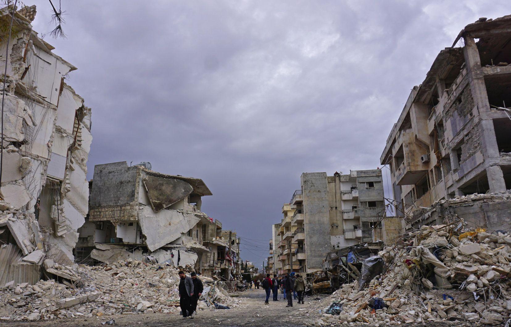 La guerre en Syrie: une tragédie humaine