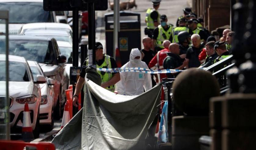 Six blessés dans une attaque au couteau à Glasgow, le suspect abattu