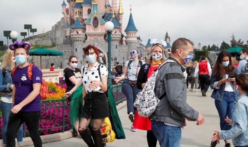 Réouverture de Disneyland Paris après quatre mois de fermeture