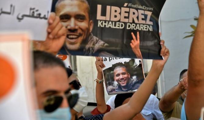 Algérie: le journaliste Khaled Drareni jugé en appel, mobilisation pour sa libération