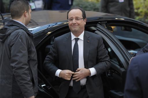 Hollande appelle l'Europe à soutenir les opérations militaires de la France