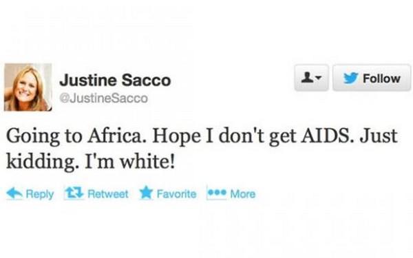 USA: un tweet raciste coûte son poste à une responsable d'un groupe internet