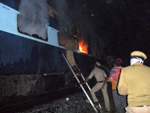 Inde: 23 morts dans un incendie à bord d'un train
