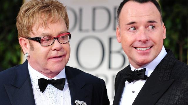 Elton John va épouser son compagnon David Furnish