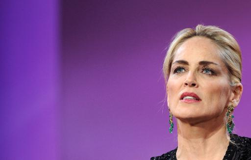 Brésil: Sharon Stone brièvement hospitalisée à Sao Paulo