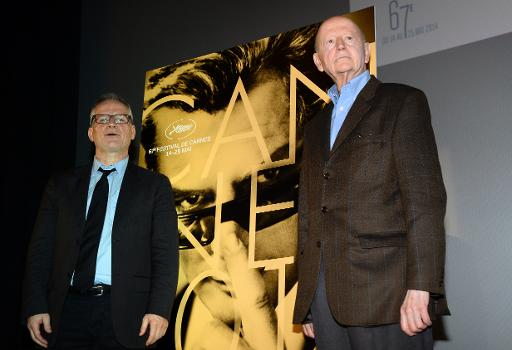 Thierry Frémeaux et le président du Festival Gilles Jacob