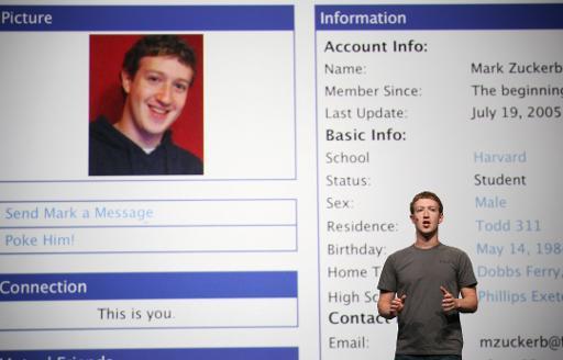 Zuckerberg fête ses 30 ans: les réseaux sociaux à la fête