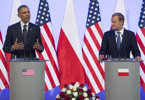 Ukraine: Obama rencontre Porochenko à Varsovie