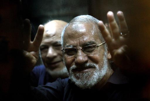 Le chef des Frères musulmans Mohamed Badie