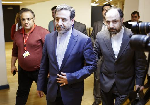 Le vice-ministre iranien des Affaires étrangères Abbas Araghchi