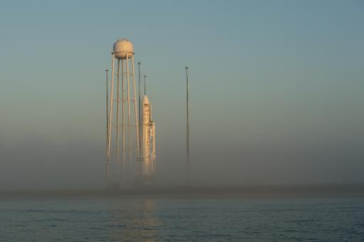 La capsule Cygnus s'est amarrée à la Station spatiale internationale