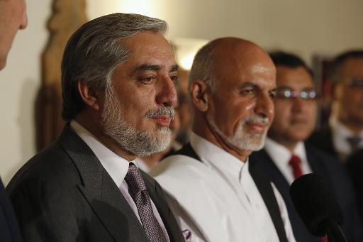 Abdullah Abdullah et Ashraf Ghani