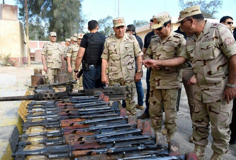 Egypte: l'armée dit avoir déjoué une attaque contre un avant-poste militaire