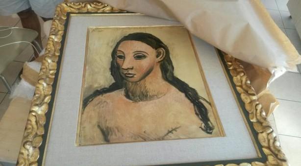 Un Picasso d'une valeur d'au moins 25 millions d'euros saisi sur un bateau en Corse