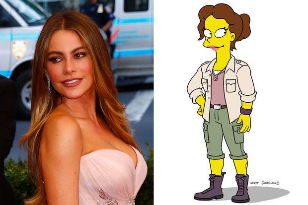 "Sofía Vergara va prêter sa voix à un personnage des ""Simpson"""