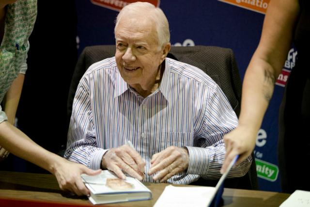 L'ancien président américain Jimmy Carter révèle son cancer du foie