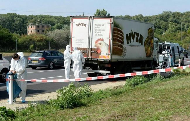 Camion-La police autrichienne annonce un bilan de 71 morts
