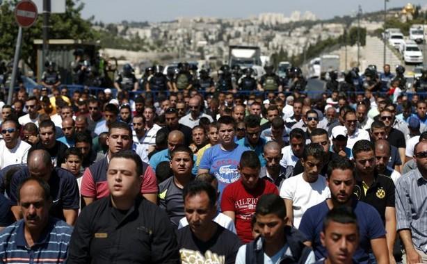Jérusalem en état d'alerte pour la prière du vendredi