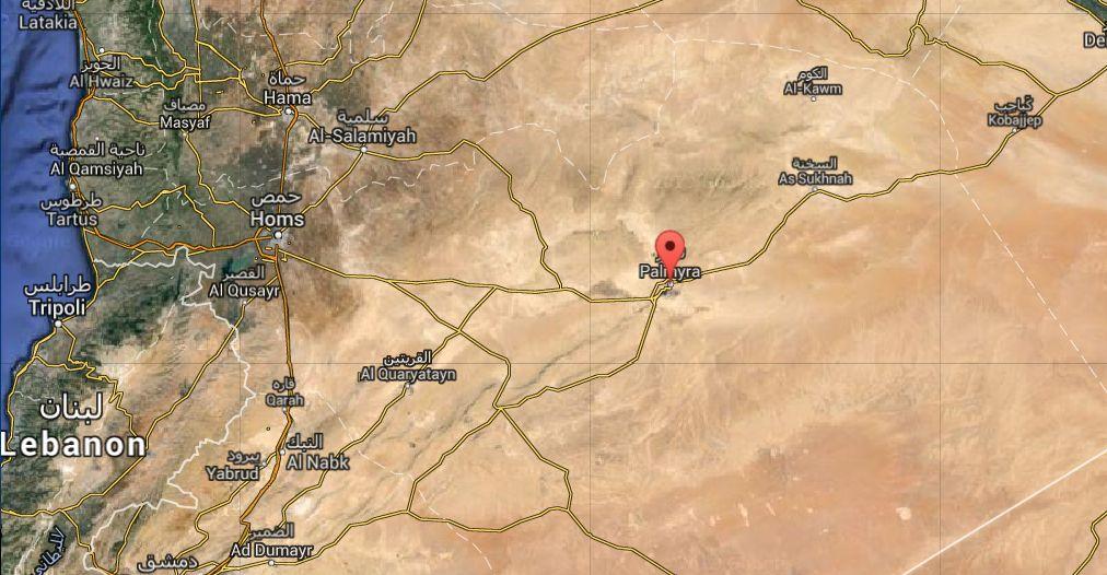 Syrie : l'Arc de triomphe de Palmyre réduit en poussière par Daech