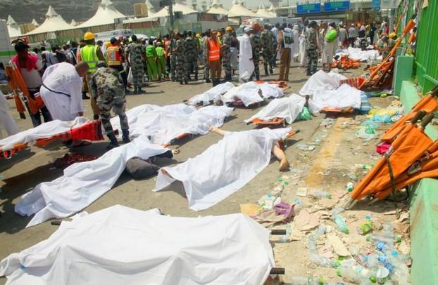 La Mecque: le bilan de la bousculade s'alourdit à 1.587 morts