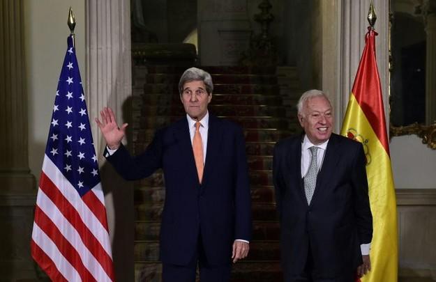 John Kerry et José Manuel Garcia Margallo