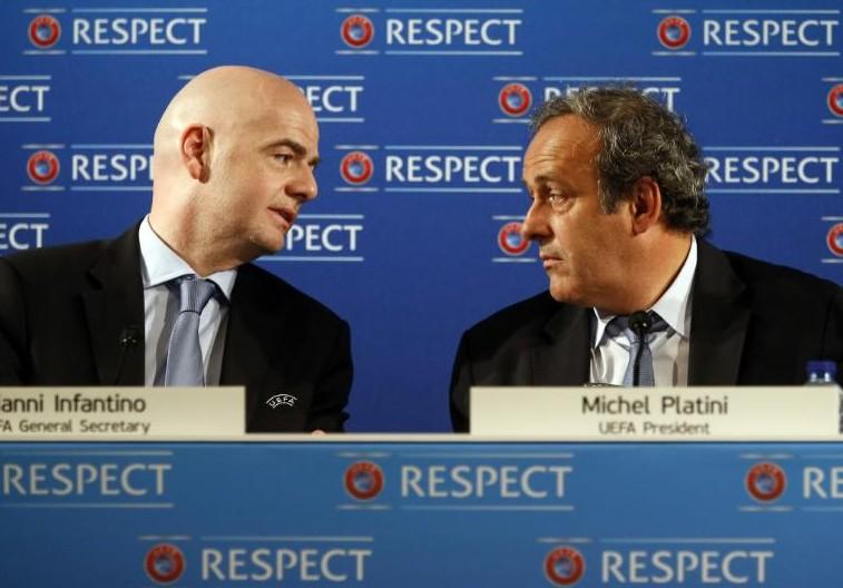 Fifa: Platini lâché par l'UEFA, deux nouveaux poids lourds en lice