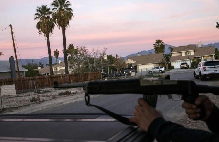 Fusillade en Californie: le couple de suspects identifié et mort