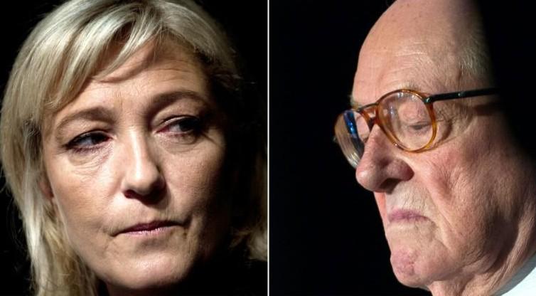 La justice saisie sur le patrimoine de Jean-Marie et Marine Le Pen