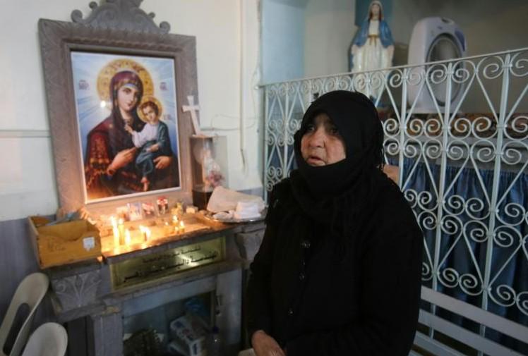 Noël d'angoisse dans un village chrétien de Syrie menacé par l'EI