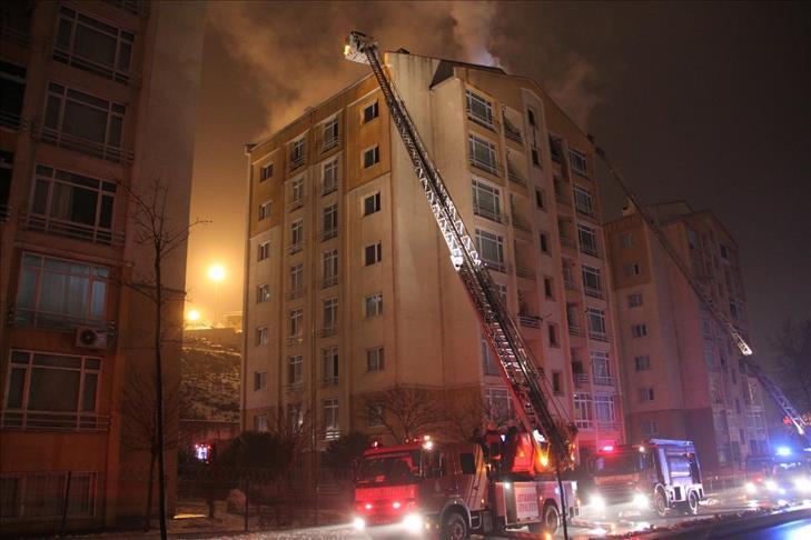 Un incendie dans une banlieue de Stockholm fait dix blessés