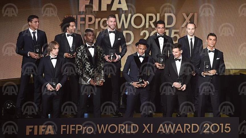 L'argentin Messi remporte le FIFA Ballon d'or 2015
