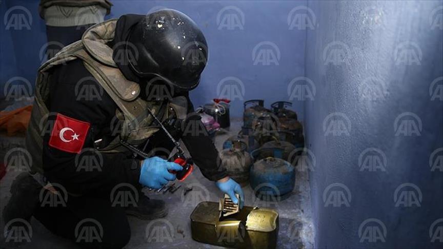 Turquie: Un drone retrouvé dans les caches du PKK à Sirnak