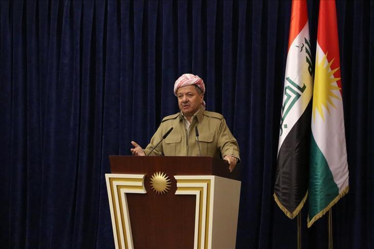 Erbil: Barzani réclame une aide internationale pour surmonter la crise financière