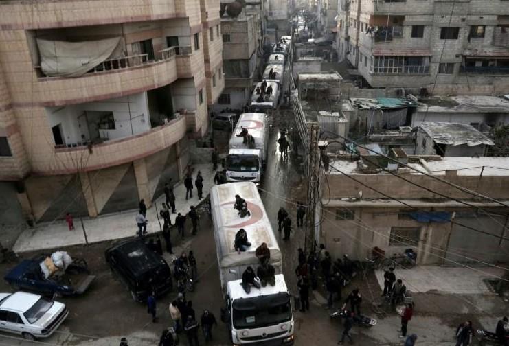 Moscou et Washington accentuent la pression pour une trêve en Syrie